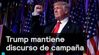 Download Denise Maerker 10 en punto - Trump: Trump mantiene discurso de campaña Video