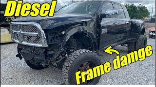 Download Rebuilding A Lifted Ram 3500 Diesel With Frame Damage!!! Video