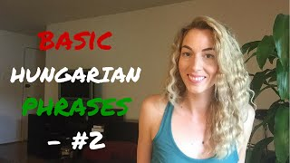 Download Basic Hungarian Phrases - #2 Video