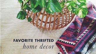 Download found #1 : thrifted home decor Video