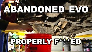 Download Abandoned Evo Engine Tear Down Video