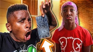 Download I Broke my Lil Brother IPHONE XR & Reads his FLIRTY MESSAGES! Video