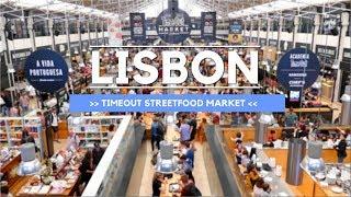 Download Best Food Market Portugal - TimeOut Market Lisboa Tour Video