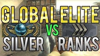Download CS:GO - Global Elite vs Silver Ranks Video
