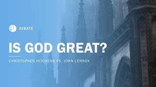 Download Christopher Hitchens vs John Lennox | Is God Great? Debate Video