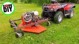 Download Homemade Front Mount ATV Mower Video