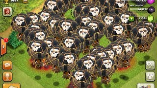 Download Clash of Clans - 54 Balloon Attack!!!!! Video