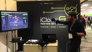 Download iClone Motion Capture with Perception Neuron at Develop:Brighton Video