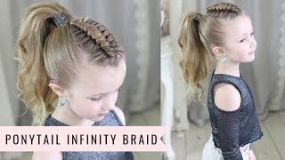 Download Ponytail Infinity Braid by SweetHearts Hair Video