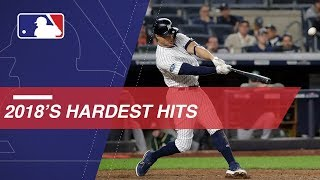 Download Statcast measures the hardest hits of 2018 Video