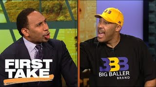Download LaVar Ball and Stephen A. argue over BBB pricing and LeBron joining Lakers | First Take | ESPN Video