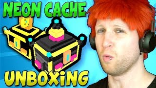Download UNBOXING OVER 500+ GREATER NEON CACHE & 15 FLASHING NEON CACHE in TROVE! Video