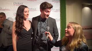 Download Ryan McCartan and Samantha Fekete Interview at Cinemagic Gala Video