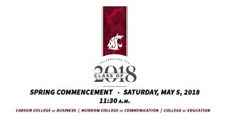 Download WSU Spring 2018 Commencement - 11:30am Video