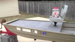 Download 12 foot jon boat casting deck modification Video