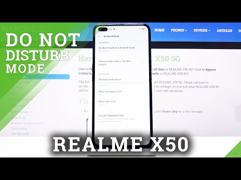 How to Enable DND Mode in REALME X50 – Do Not Disturb Mode