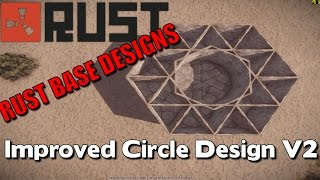 Download Improved Circlular Design V2 | Rust Base Designs #14 Video