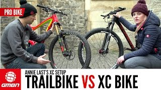 Download Trail Bike Vs XC Bike With Annie Last Video