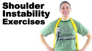 Download Shoulder Instability Exercises - Ask Doctor Jo Video
