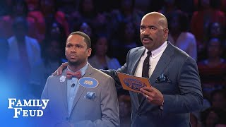 Download Can John get 36 points with his final answer? | Family Feud Video