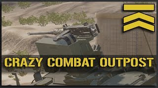 Download Crazy Combat Outpost - Squad Alpha v9.4 SuperFOB Full Match Video