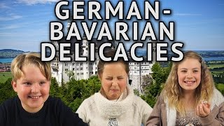 Download German Kids try German-Bavarian Delicacies Video