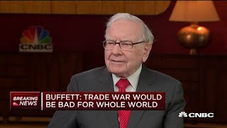 Download Warren Buffett on China trade talks: Sometimes negotiators need to 'act half crazy' to get results Video
