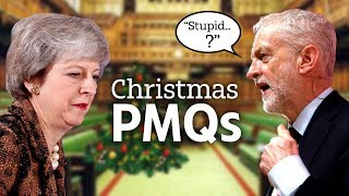 Download May & Corbyn battle it out in last PMQs before Christmas Video