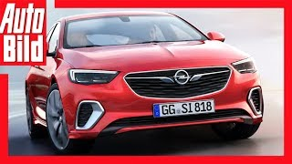 Download Opel Insignia GSi (2017) - Details/Erklärung Der GSi ist wieder da! Video