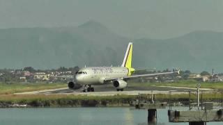Download Flugzeugstart von einer der kürzesten Startbahn Europas. Video