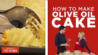 Download How to Make Olive Oil Cake for the Simplest Dinner Party Dessert Video