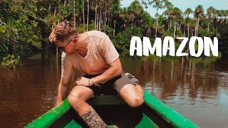 Download You DO NOT want to fall in this lake - AMAZON RAINFOREST Video