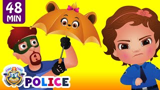 Download ChuChu TV Police Save The Umbrella Friends of the Kids from Bad Guys | ChuChu TV Surprise Eggs Toys Video
