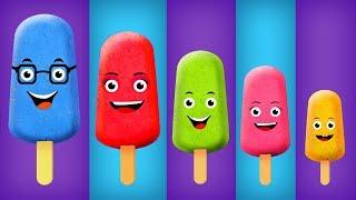 Download Cake Pop Ice Cream Finger Family Collection The Finger Family Cake Pop Family Nursery Rhymes Video