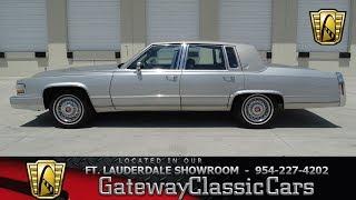 Download #512-FTL 1990 Cadillac Fleetwood Brougham D'Elegance Video