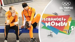 Download The Mistake That Cost Sven Kramer Olympic Gold   Strangest Moments Video