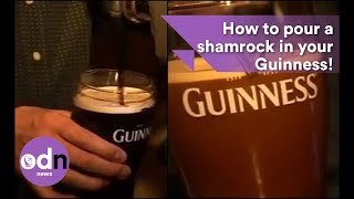 Download How to pour a shamrock in your Guinness! Video