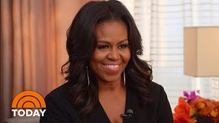 Download Michelle Obama Opens Up To Jenna Bush Hager About Her New Book - Full Interview | TODAY Video