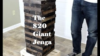 Download Make your own Giant Jenga! - DIY Project Video