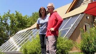 Download Serre et maison solaire Video