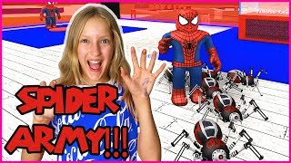 Download Creating My SPIDER ARMY! Video