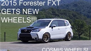 Download 2015 FORESTER FXT NEW COSMIS WHEELS!!!! Video