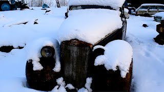 Download 1937 Mercedes-Benz w153 Cold Start After 11 Years (1080p) Video
