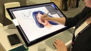 Download Microsoft Surface Studio #AdobeMAX Video