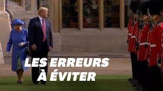 Download Trump et la Reine Elizabeth II: les erreurs de protocole qu'il devra (cette fois) éviter Video