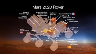 Download NASA's Mars 2020 Rover Payload includes these 7 amazing instruments. Video