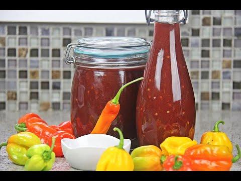 Smoked Cherry Rum Pepper-Sauce (wing sauce) #tastyTuesdays | CaribbeanPot.com