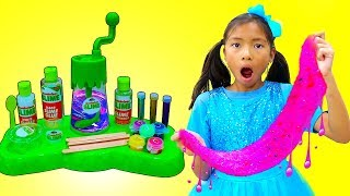 Download Wendy Pretend Play Make DIY Satisfying Nickelodeon Slime Video