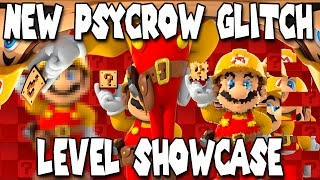 Download NEW PSYCROW GLITCH LEVEL?! Super Mario Maker Video