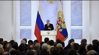 Download Vladimir Putin delivers state of the nation address Video